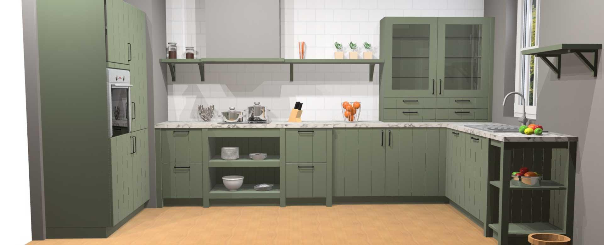 Küche - Entwurf 2
