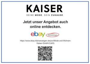 Anzeige ebay