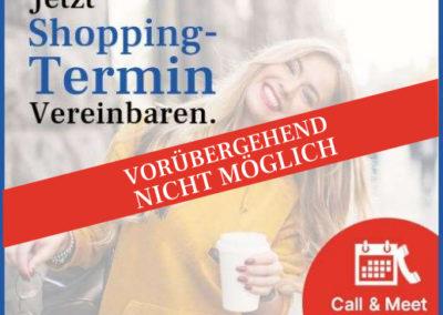 Termin-Shopping vorübergehend nicht möglich!