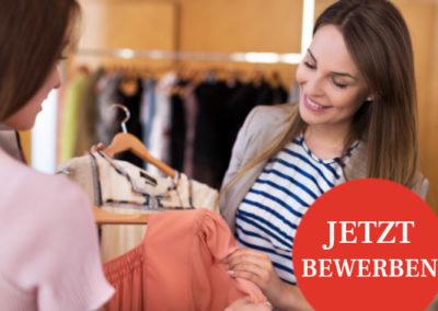 Modeberater*Innen auf 450€ Basis gesucht!